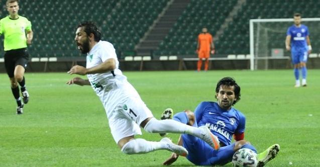 Kocaelispor vasat skora razı oldu: 0-0