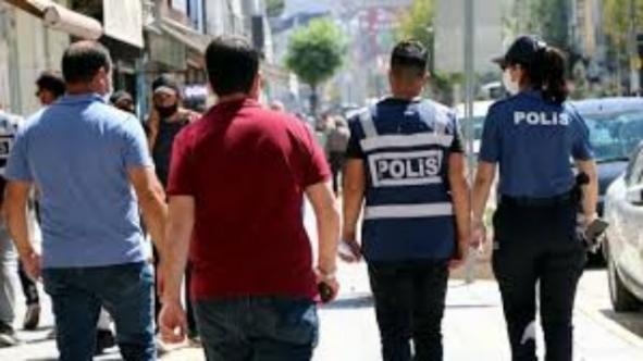 Korona denetiminde 124 kişiye ceza