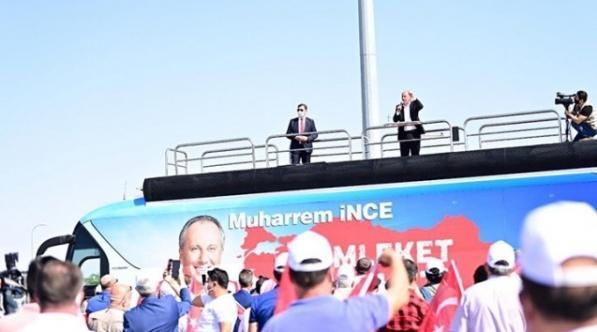 Muharrem İnce 'Memleket Hareketi'ni Sivas'tan başlattı!