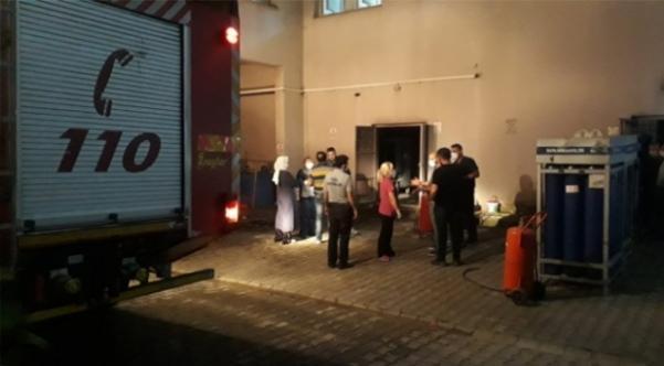Darıca Farabi Hastanesinde korkutan yangın