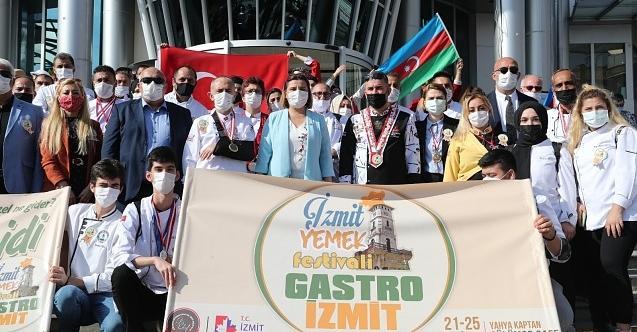 Haydi İzmit festivale! Gastro-İzmit Yemek Festivali başladı!