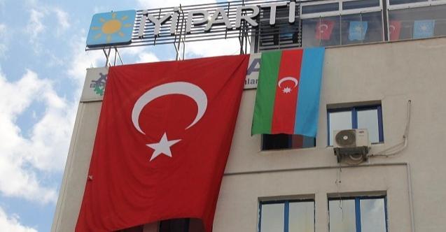 İYİ Parti Kocaeli Teşkilatı'ndan Azerbaycan'a tam destek!