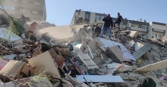 İzmir'de 6,9'luk deprem, Marmara'da da hissedildi!