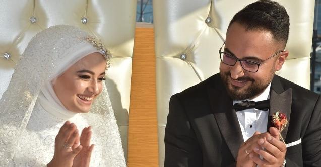 Kalyoncu ailesinin mutlu günü! Edanur ile Osman dünya evine girdi...