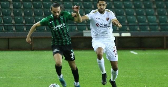 Kocaelispor 1-0 galibiyetle seriye devam ediyor!