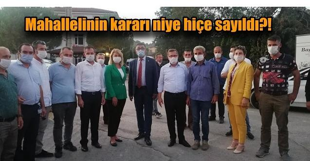 Türkkan, Durhasan'da yapılacak sanayi sitesini Çevre Şehircilik Bakanı Kurum'a sordu!