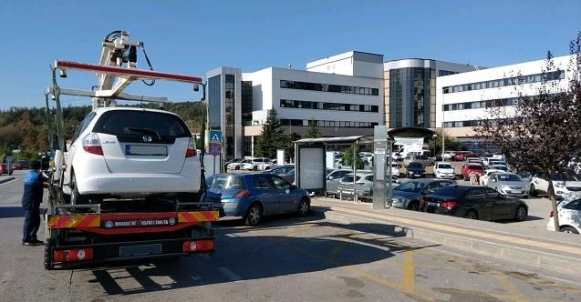 Umuttepe'de hatalı park eden araçlara ceza
