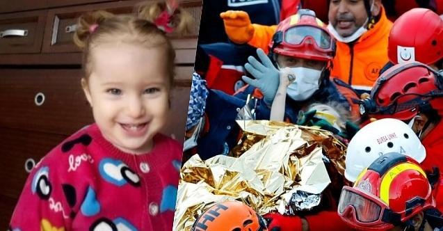 İzmir'de 65 saat sonra gelen mucize: Elif bebek sağ çıktı!
