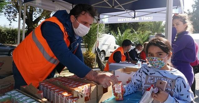 İzmit Belediyesi ekipleri Bucalıların da yardımına koştu!