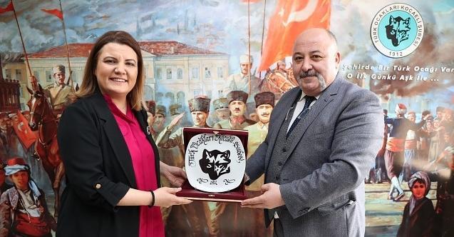 Başkan Hürriyet, Türk Ocağı'nı ziyaret etti