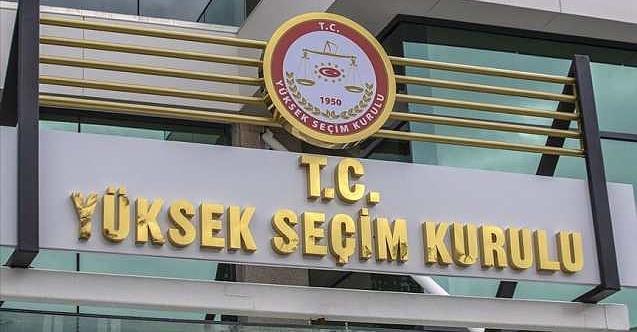 İçişleri Bakanlığı'ndan 'Yüksek Seçim Kurulu' genelgesi