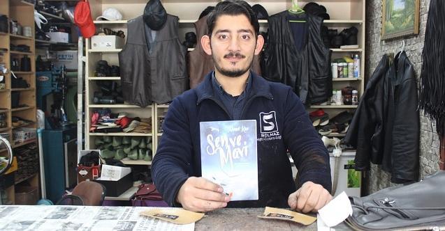 Ayakkabı tamircisi genç, ikinci şiir kitabını çıkarıyor