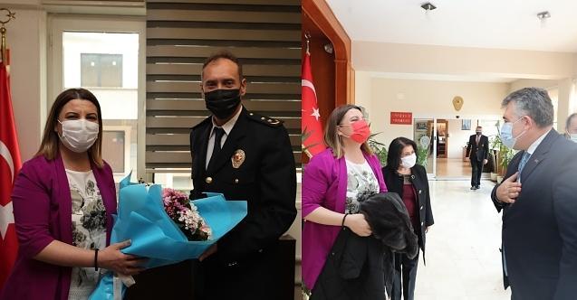 Başkan Hürriyet, İl ve İlçe Emniyet Müdürleri'nin Polis Haftaları'nı kutladı