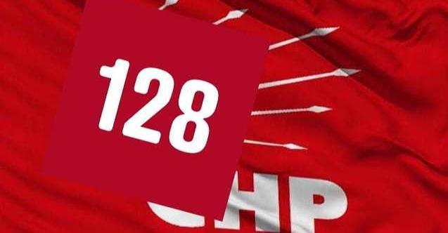 CHP'den sosyal medyada '128' kampanyası!