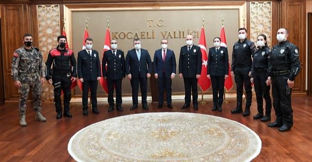 İl Emniyet Müdürü'nden Vali Seddar Yavuz'a ziyaret!