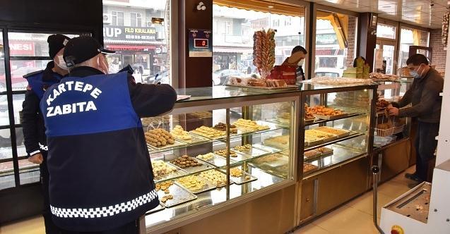 Kartepe'de fırınlara Ramazan denetimi