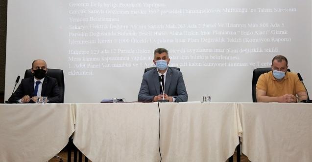 Gölcük Belediye Meclisi İsrail'e karşı tek yürek oldu!