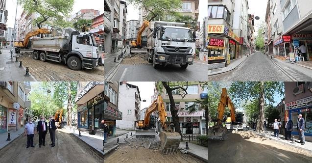 İzmit Belediyesi Acısu'yu asfalta kavuşturuyor