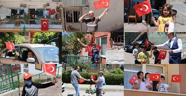 İzmit'in tüm sokaklarında19 Mayıs coşkusu!