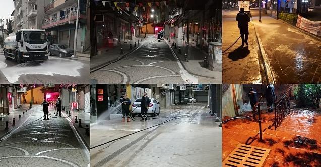 İzmit'in tüm sokaklarından temizlik kokusu yayılıyor