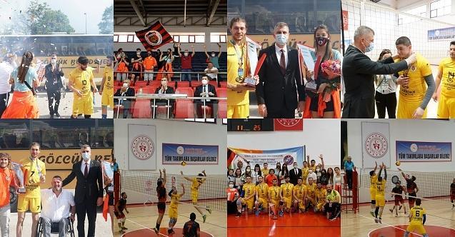 Karabük'te çifte Türkiye Şampiyonluğu ile Gölcük damgası!