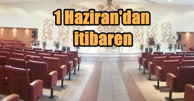 İzmit'te nikah salonları hizmete ücretsiz devam edecek