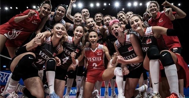 A Milli Kadın Voleybol Takımı, dünya üçüncüsü oldu