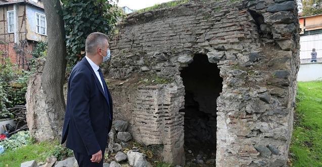 Değirmendere'de bulunan tarihi hamam restorasyonu projesi onaylandı