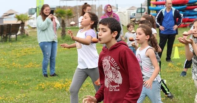 İzmit Belediyesiçocuk maratonuna hazırlanıyor