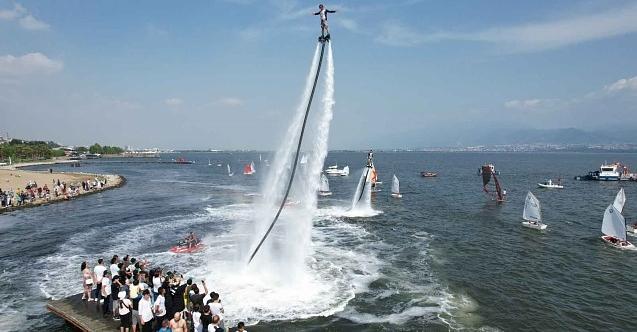Su Sporları Festivali nefesleri kesti