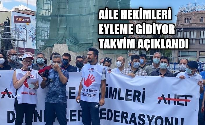 """AHEF: """"Aile hekimlerinin eylem yapmasının tek sebebi Sağlık Bakanlığı'nın tutumu"""""""
