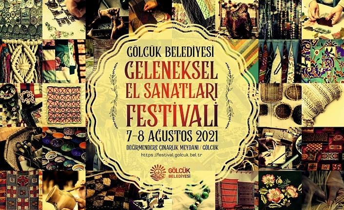 Geleneksel El Sanatları Festivali 7-8 Ağustos'ta Değirmendere'de