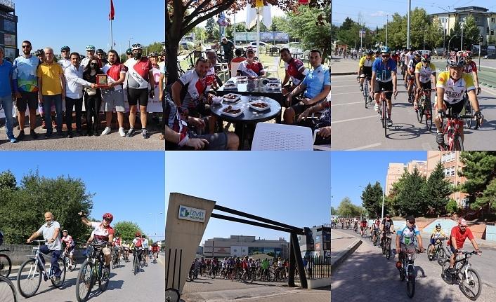 İzmit Belediyesi ile pedallar Cengiz Anaç için çevrildi