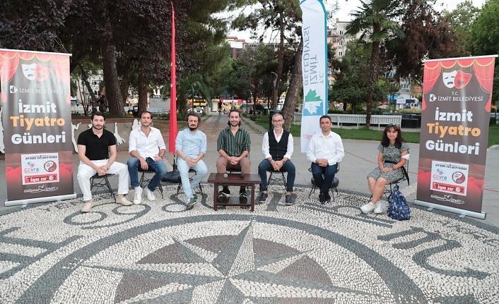 İzmit Tiyatro Günleri, yerel tiyatrokurucularının söyleşisiyle tamamlandı