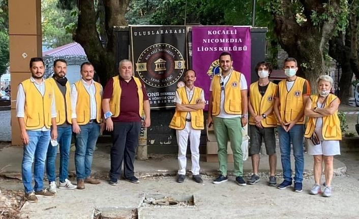 Kocaeli Nicomedia Lions Kulübü 17 Ağustos'ta yine lokma dağıttı