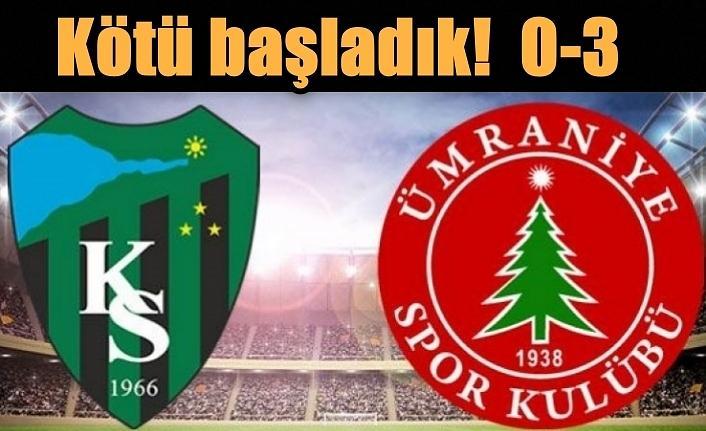 """Mustafa Reşit Akçay, """"Kötü oynamadık ama çok kötü goller yedik"""""""