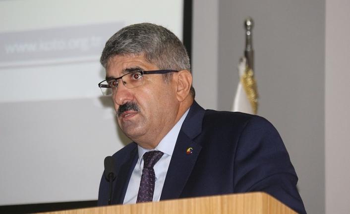 KOTO Ağustos Meclis Toplantısı'nda Bulut'tan Maliye Bakanı Elvan ve GİB Başkanı Bayraktar vurgusu