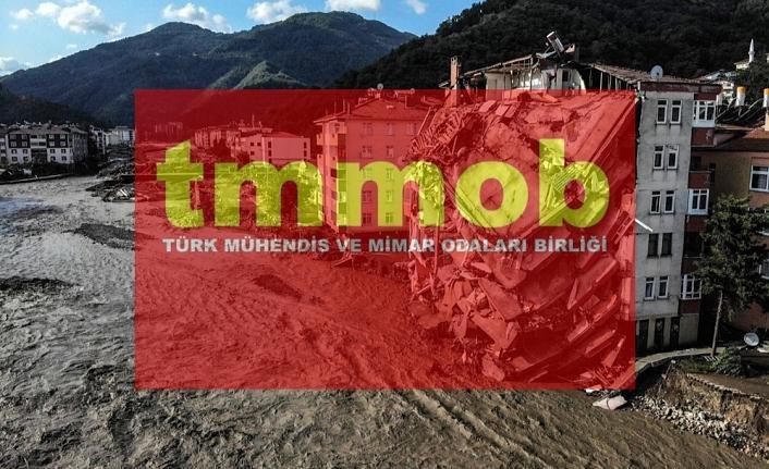 TMMOB: Ağır hasar ve can kaybının temel nedeni HES'ler