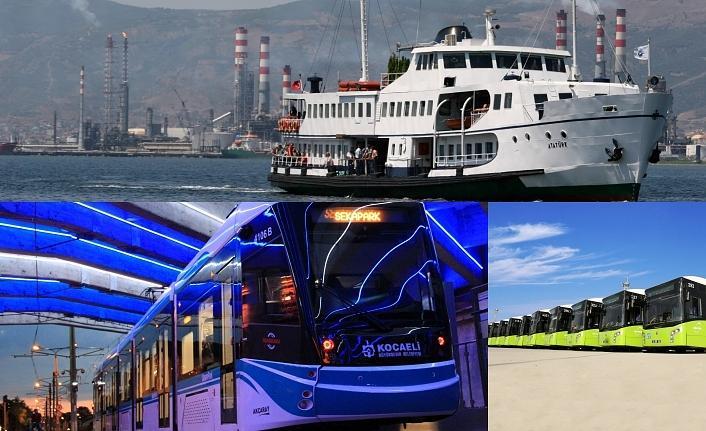Toplu ulaşım araçları 30 Ağustos'ta ücretsiz