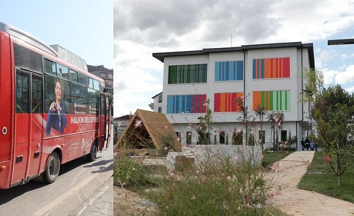 Çınar Çocuk Evi açılışı için vatandaşa ücretsiz servis