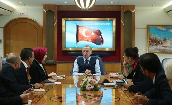 """Erdoğan: """"Başkanlık sistemiyle yolumuza devam edeceğiz"""""""