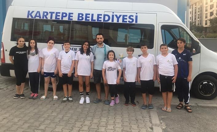 Kartepeli yüzücüler Türkiye Şampiyonası'na katılmaya hak kazandı