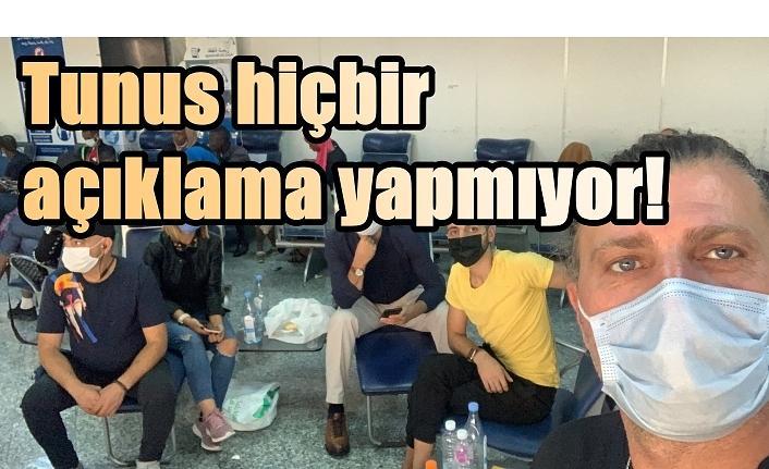 Kocaeli Trabzonlular Derneği Başkanı Sami Durmuşoğlu 20 saattir Tunus Havalimanı'nda tutuluyor!