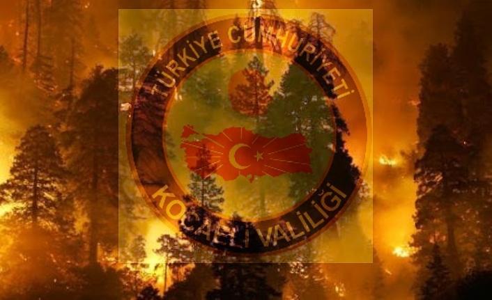 Kocaeli Valiliği ormanlarda ateş yakılabilecek alanları duyurdu