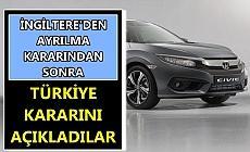 Honda, Türkiye'den ayrılacak mı?