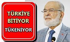 SP lideri Temel Karamollaoğlu uyardı!