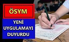 Sınava girecek adaylara müjde!