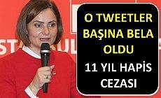 Canan Kaftancıoğlu için hapis istemi!